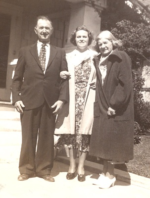 Ethel and her parents