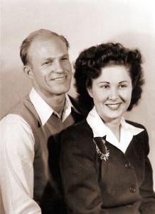 Parrett, Donald & Jessie - young portrait